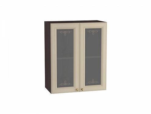 Шкаф верхний с 2-мя остекленными дверцами Версаль 600