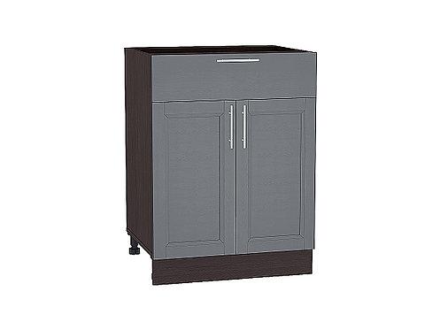 Шкаф нижний с 2-мя дверцами и ящиком Сканди 600
