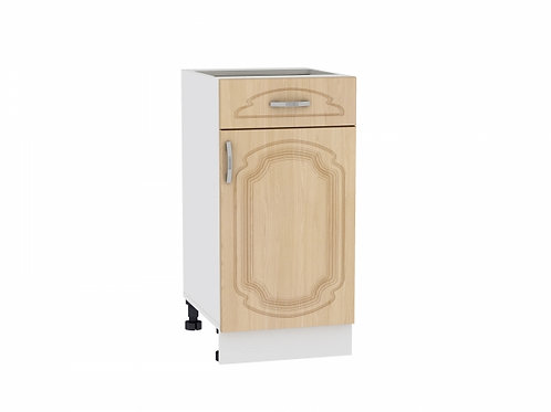 Шкаф нижний с 1-ой дверцей и ящиком 400 Настя