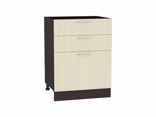 Шкаф нижний с 3-мя ящиками Валерия-М 600