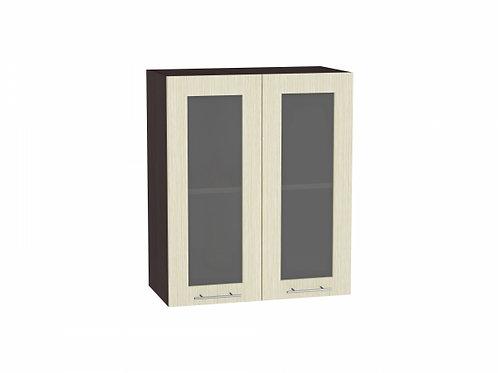 Шкаф верхний с 2-мя остекленными дверцами Валерия-М 600 (920)
