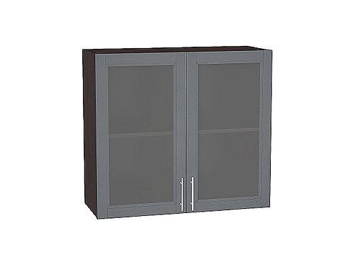 Шкаф верхний с 2-мя остекленными дверцами Сканди 800
