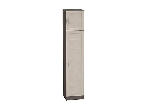 Шкаф одностворчатый бельевой Лофт ШК-121 2024*400*382