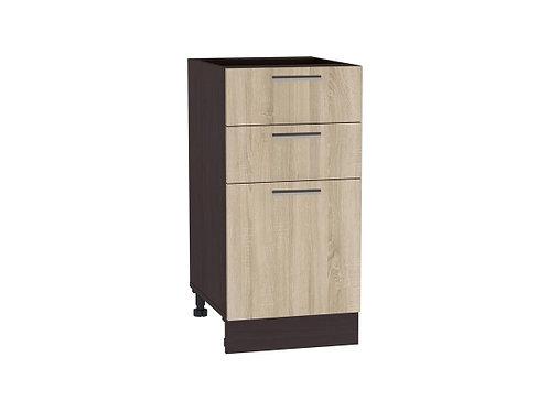 Шкаф нижний с 3-мя ящиками Брауни ШН 403
