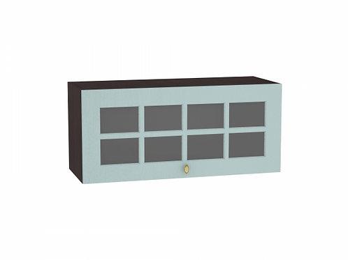 Шкаф верхний горизонтальный остекленный Прованс 800