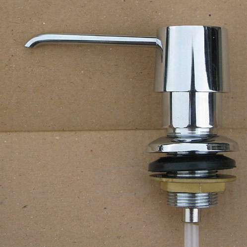 Дозатор для жидкого мыла хромированный