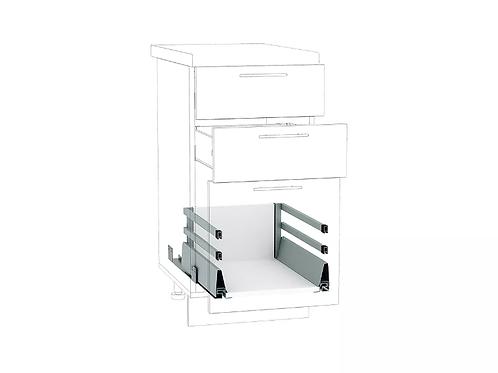 Ящик высокий POWER BOX2 с 2-м рейлингом 300