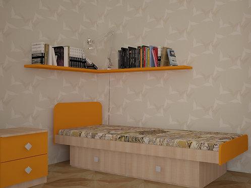 """Кровать """"Жили-были"""" 2032х840х830"""