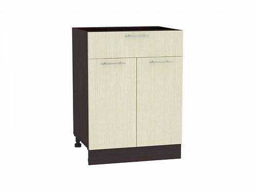 Шкаф нижний с 2-мя дверцами и ящиком Валерия-М 600
