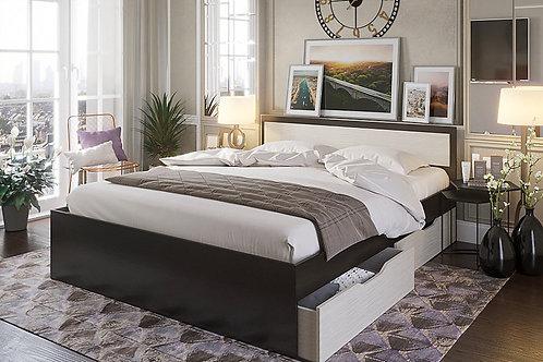 Кровать Гармония с ящиками 1.40  КР-605  1452*2032*700