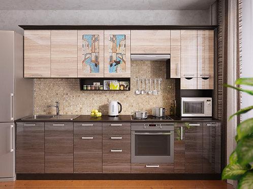 Кухня Венеция 5 верх:2950x1340х330 низ:2950x860x600