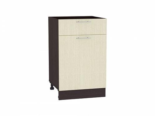 Шкаф нижний с 1-ой дверцей и ящиком Валерия-М 500