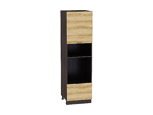 Шкаф пенал под бытовую технику с 2-мя дверцами Терра W 606 (720)