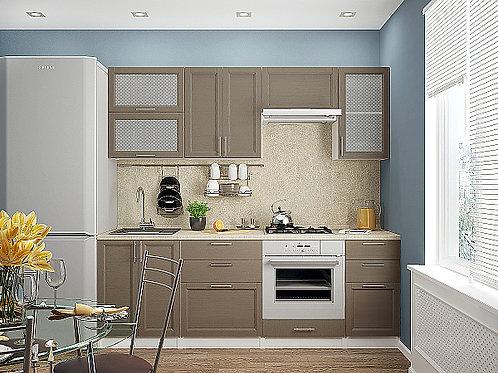 Сканди-02 Cappuccino Wood 2200*600*2140