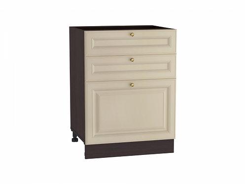 Шкаф нижний с 3-мя ящиками Версаль 600