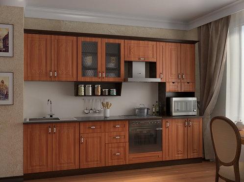 Кухня Классика 5 верх:2950x1340х330 низ:2950x860x600