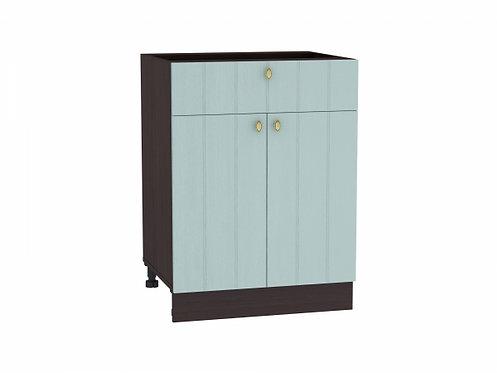 Шкаф нижний с 2-мя дверцами и ящиком Прованс 600