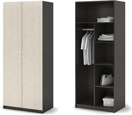 Шкаф 2-х створчатый Бася ШК-556 800*506*2020