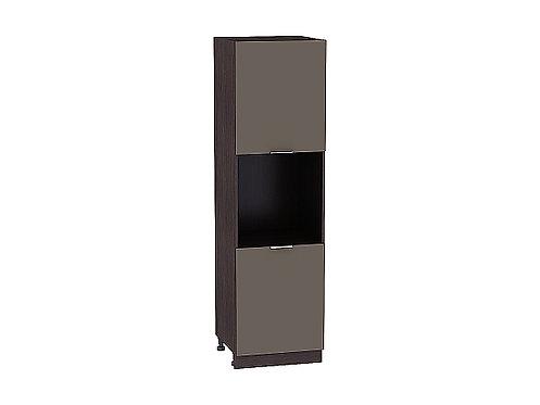 Шкаф пенал под бытовую технику с 2-мя дверцами Терра 600Н  (720)