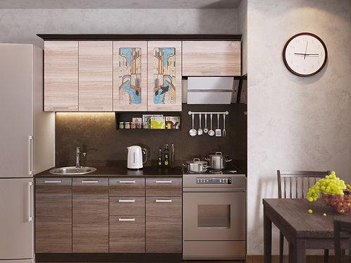 Кухня Венеция 2 верх:2000x986х330 низ:1400x860x600