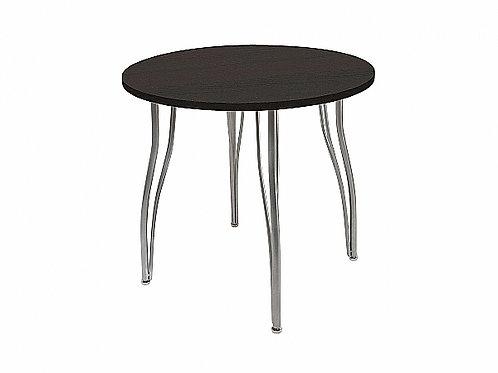 Стол обеденный круглый LС (ОС-12) Черное дерево