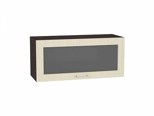 Шкаф верхний горизонтальный остекленный Валерия-М 800