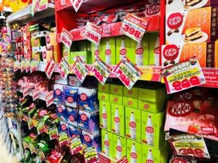 Halloween candy (KitKat)