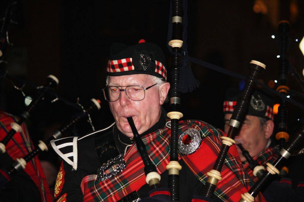 Pipe Sergeant Ron Brown