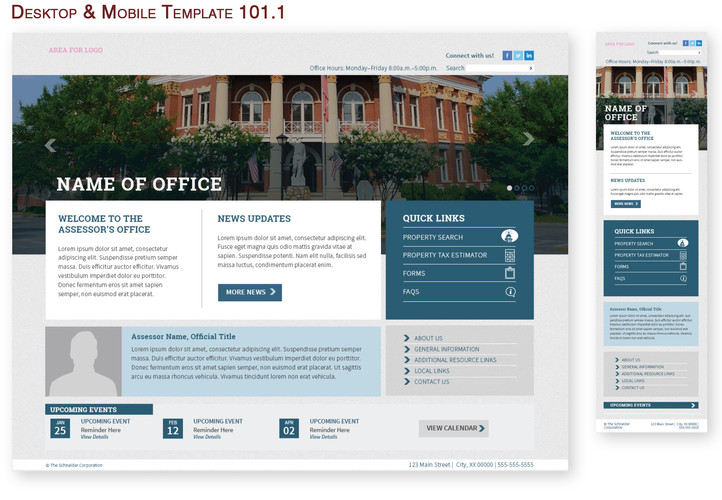 Desktop & Mobile Template 101.1