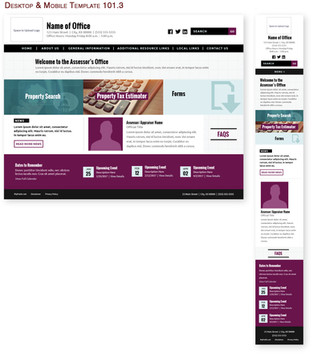 Desktop & Mobile Template 101.3