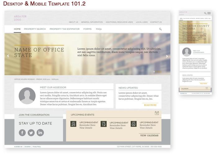Desktop & Mobile Template 101.2