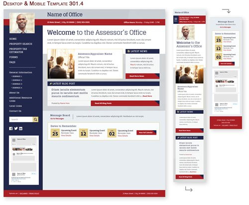 Desktop & Mobile Template 301.4