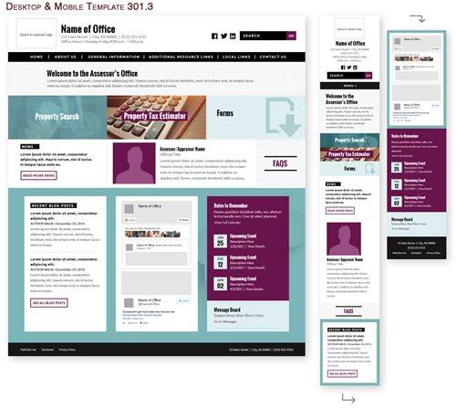 Desktop & Mobile Template 301.3
