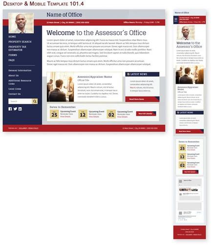 Desktop & Mobile Template 101.4