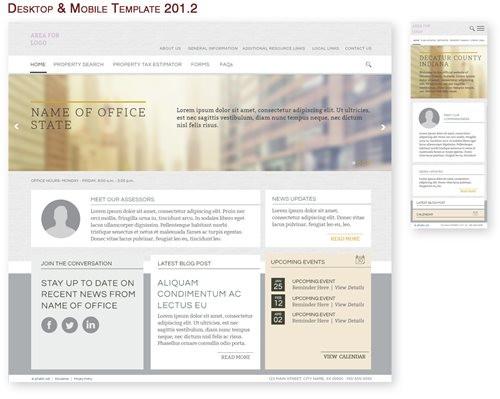 Desktop & Mobile Template 201.2