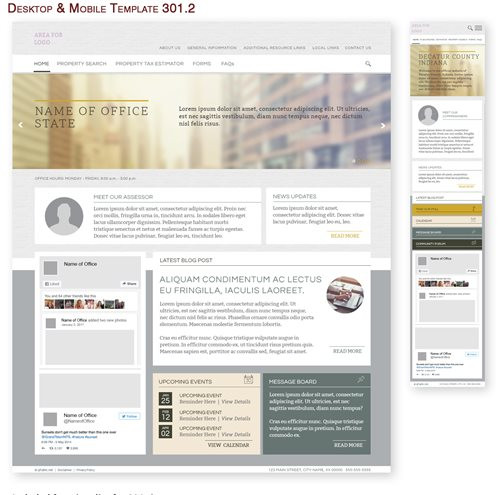 Desktop & Mobile Template 301.2