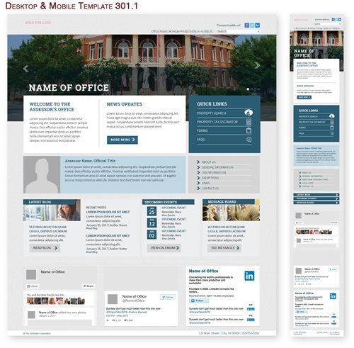 Desktop & Mobile Template 301.1