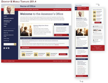 Desktop & Mobile Template 201.4