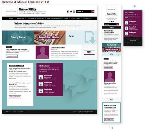 Desktop & Mobile Template 201.3