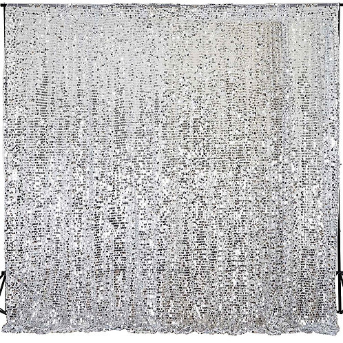 20X10 Payette Sequin Curtain Wall