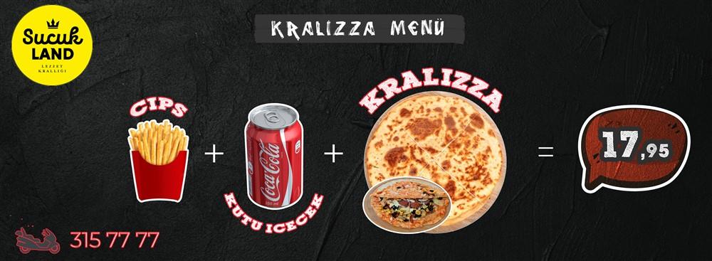 Sucukland_Kralizza_Menü