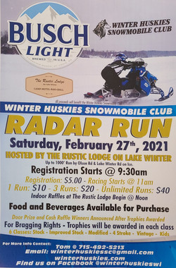 Radar Run Poster 2021