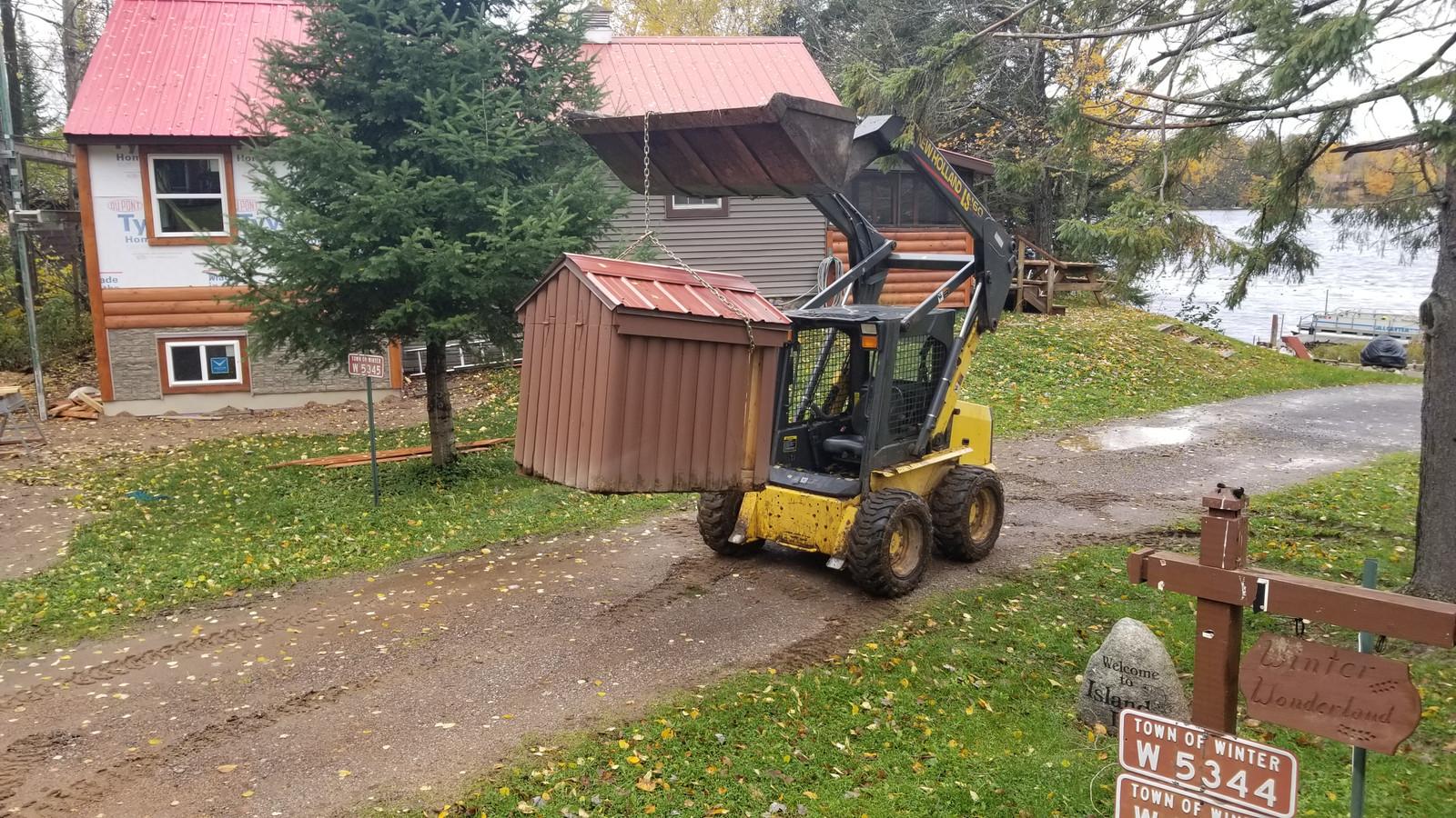 Skid-steer work