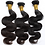 Thumbnail: Peruvian Body Wave Hair 3 Bundles Human Hair Extensions Color 1B