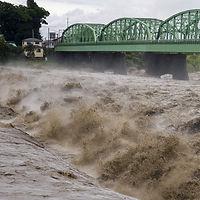 大風による水害が増えています