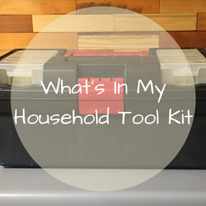 what to keep in a household tool kit
