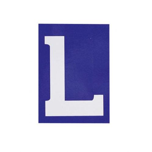 'L' - kenteken (elektrostatisch)