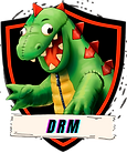 DRM LOGO WITH FUDZILLA