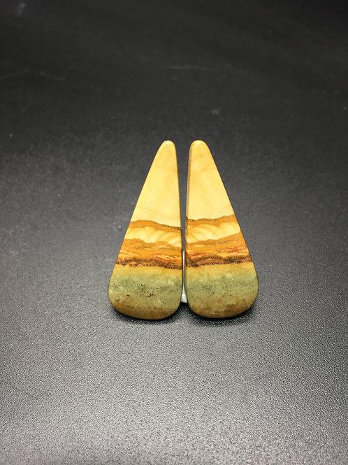 Jaspe paysage - 22.12 carats - Oregon - USA