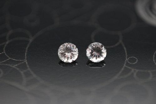 Scapolites (Paire) - 0,24  carat - Afghanistan